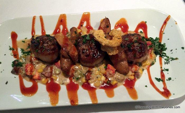Blackened Scallops Lobster To Maque Choux Restaurant Rebirth New Orleans