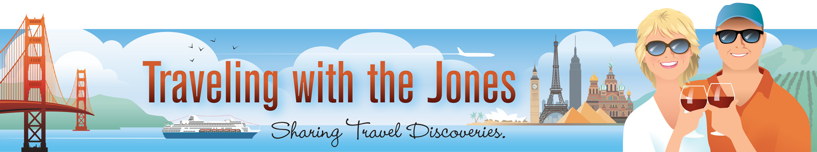 Traveling with the Jones header image